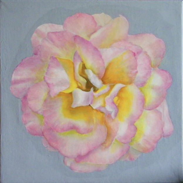 Contemporary Rose, with Glazes by Lynnette Horn